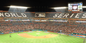 2003 World Series Card Stunt