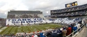 Penn State University Card Stunt