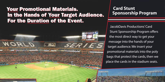Stadium Card Stunts