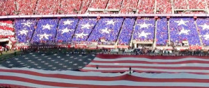 49ers vs. Bears at Levi's Stadium Card Stunt