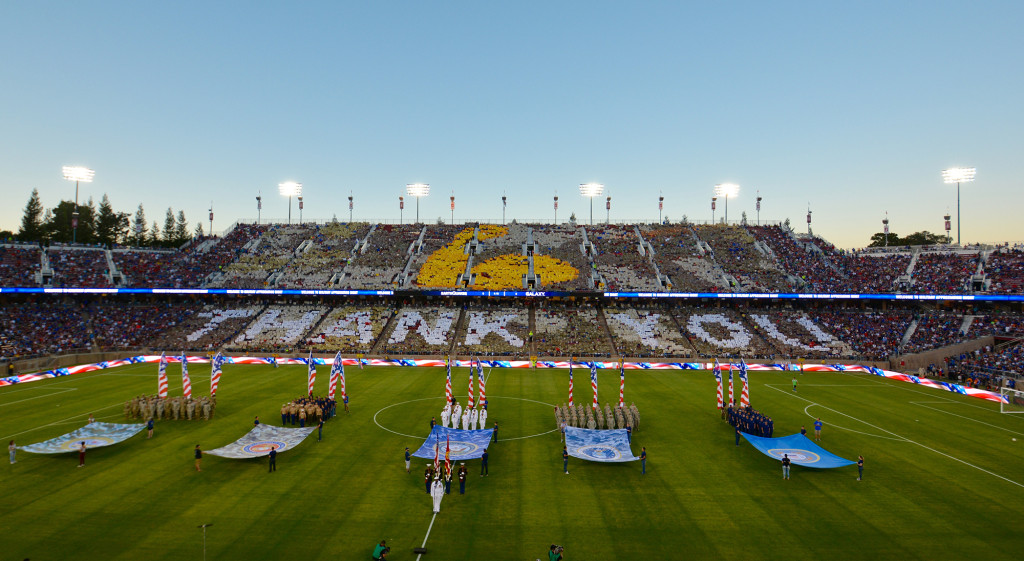 San Jose Earthquakes - Thank You Troops